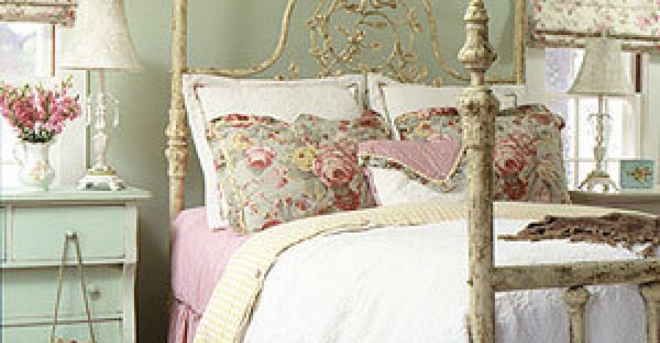 Prodotti camera da letto shabby chic - Letto shabby ikea ...