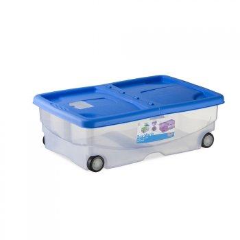 Prodotti contenitore in plastica box mario con ruote for Scatola sottoletto