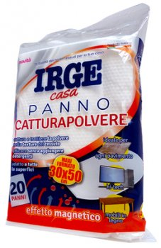 Prodotti  IRGE PANNO CATTURA POLVERE CONFEZIONE DA 20 PZ