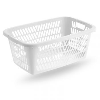 Prodotti cesta portabiancheria rettangolare forata cm 60 for Plastica riciclata prezzo