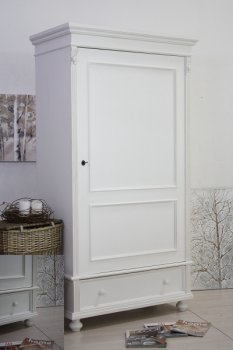 Prodotti | MOBILE ARMADIO ESSENTIAL COUNTRY CHIC BIANCO CON UN ...